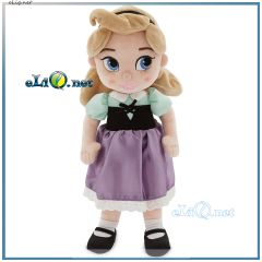 2017 плюшевая кукла Малышка Аврора Aurora Plush Doll  Disney Animators - Sleeping Beauty. Дисней оригинал