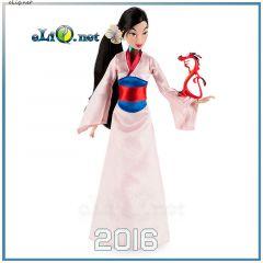 Кукла принцесса Мулан и минифигурка Мушу  (Disney, Дисней) Mulan, Mushu