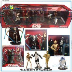 Мега-набор 20 фигурок Звездные Войны. Star Wars Disney Mega Figure Play Set
