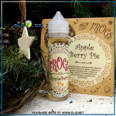 60 мл Apple Berry Pie Frogs - Яблочно - ягодный пирог жидкость для заправки электронных сигарет Frog Fom Fog. Украина
