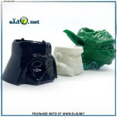 Набор подставок Звездные Войны (Йода, Дарт Вейдер, 2 Штурмовика) под 510 атомайзер. Star Wars Vape stand