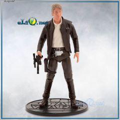 Хан Соло Коллекционная подвижная фигурка. Элитная серия Star Wars Han Solo Elite Series Action Figure. Дисней оригинал