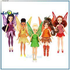 Набор из 5 мини куколок-фей из Феи: Легенда о чудовище. Fairies Legend of the Neverbeast Doll Set Disney. Дисней оригинал, США