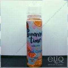 IVA Summer Time Cool Grape 60мл - авторская жидкость для заправки электронных сигарет. Украина.