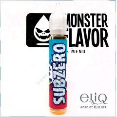 Monster Flavor Subzero 30мл - жидкость для заправки электронных сигарет Украина. Апельсиновое мороженое.
