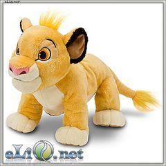 Львенок Симба (Disney). Плюшевая игрушка. Дисней оригинал США.