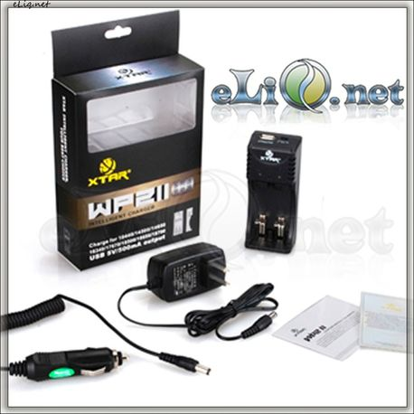 XTAR WP2II lithium ion battery charger / Универсальное зарядное устройство для большинства Li-Ion аккумуляторов