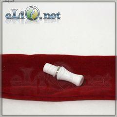 Белый мундштук для Vision eGo / e-turbo / 5ml CC /