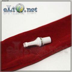 Плоский белый мундштук для Vision eGo / e-turbo / 5ml CC /