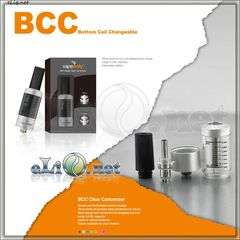 3.5ml Vapeonly BCC(Bottom Coil Changeable) mega Clear Cartomizer