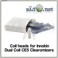 [Innokin] Сменные испарители для двуспирального клиромайзера iClear 16 / Dual Coil CE5