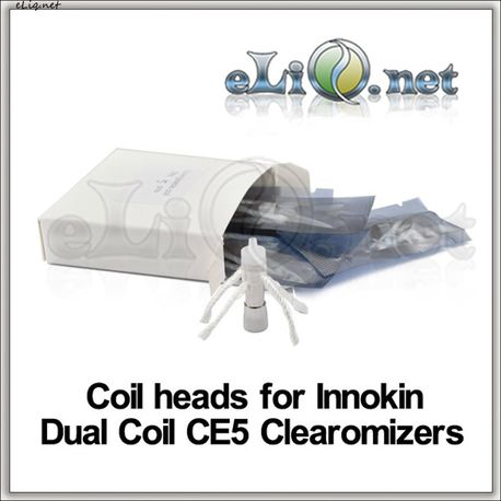 Сменные испарители для двуспирального клиромайзера Innokin iClear 16 / Dual Coil CE5