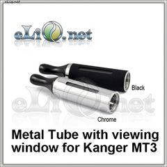 Metal Tube with viewing window for Kanger MT3