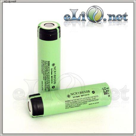 18650 Panasonic NCR18650B 3400mAh rechargeable Li-Ion Battery