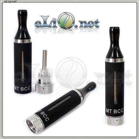 eGo 3.0ml MT BCC / Разборной клиромайзер с нижней спиралью, в металлическом корпусе с окошками