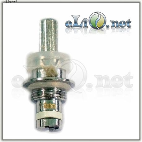 eGo 1.6ml EVOD MT BCC (Metal Bottom Coil Changeable) Clear cartomizer/Clearomizer