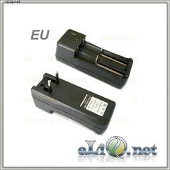 2-Slot AC charger for 18350 / 18500 / 18650 Li-Ion Battery