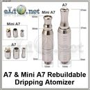 A7 & Mini A7 Kumiho RDA (Rebuildable Dripping Atomizer)