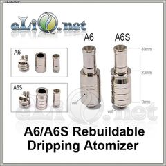 A6 & A6S Kumiho RDA (Rebuildable Dripping Atomizer) - атомайзер для дрипа