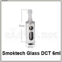 [SmokTech] 6 мл 510 DCT V3 glass aluminium Dual Coil Tank
