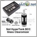 5ml HyperTank BCC - Стеклянный клиромайзер-танк. Гипертанк.