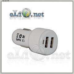 Адаптер для зарядки в автомобиле на 2 USB порта