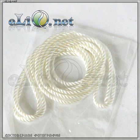(2 мм) СуперШнур для фитиля, 1 метр / atomizer wick (2 mm)