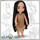 Кукла Принцесса-малышка Покахонтас Disney. Дисней оригинал США