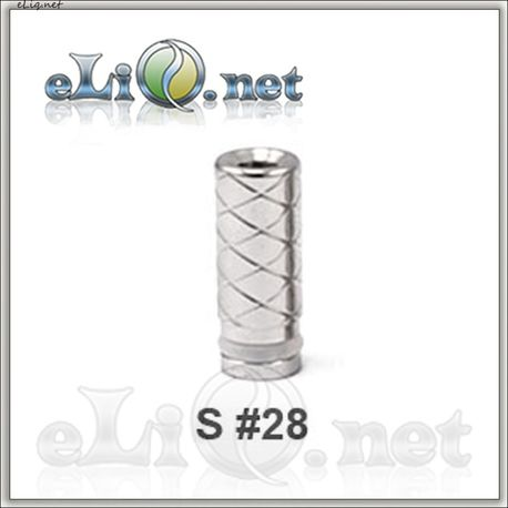 S 28 (510) Stainless Steel Drip Tip
