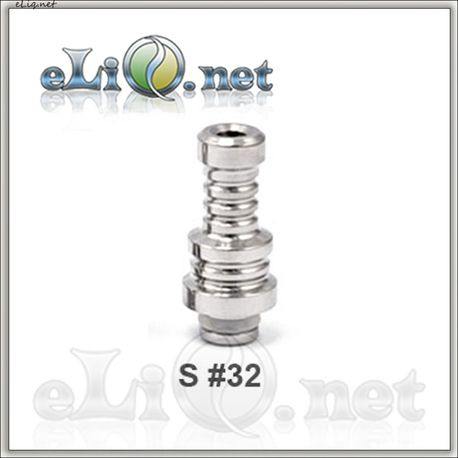 S 32 (510) Stainless Steel Drip Tip