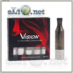 [Vision] V. Pure 2.0ml BBC - разборной клиромайзер с нижней спиралью.
