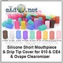 Short  Mouthpiece Cover for CE4 & 510 & Ovape - силиконовый колпачек