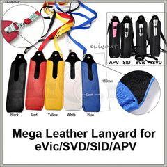 [Mega] Кожаный чехол для ношения большой электронной сигареты на шее