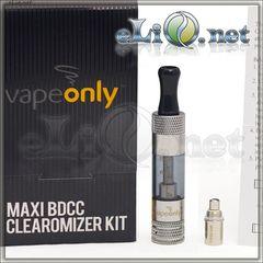 [VapeOnly] 1.5ml MAXI BDCC разборной двуспиральный клиромайзер с нижним расположением спиралей.