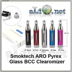 [Smoktech] 3.5 ml ARO Pyrex Glass BCC Клиромайзер