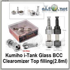 [2.8 ml] i-Tank Kumiho Pyrex Glass BCC Клиромайзер