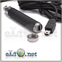 [USB] 1100mAh (3.7v) eGo / eGo-T / eGo-C Battery (Passthrough) - пастру