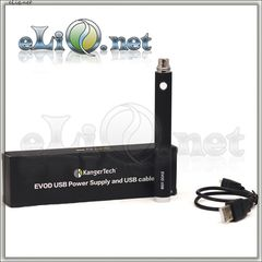 3.8 V, 1000 мАч Kanger EVOD Manual USB Battery (passthrough)