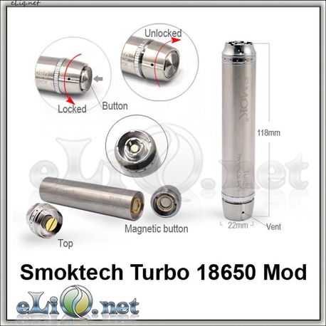 [Smoktech] Smoktech Magnetic Turbo 18650 Mod