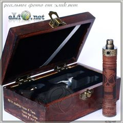 [Vision] X.Fire E-fire VV wood kit - стартовый набор в деревянной шкатулке.