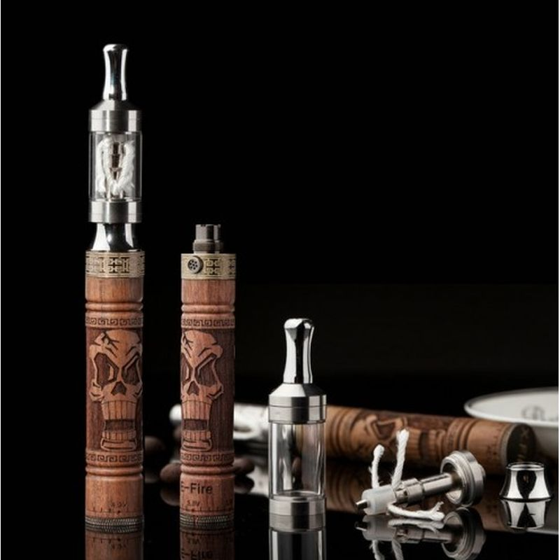 Electronic cigarette with hash oil
