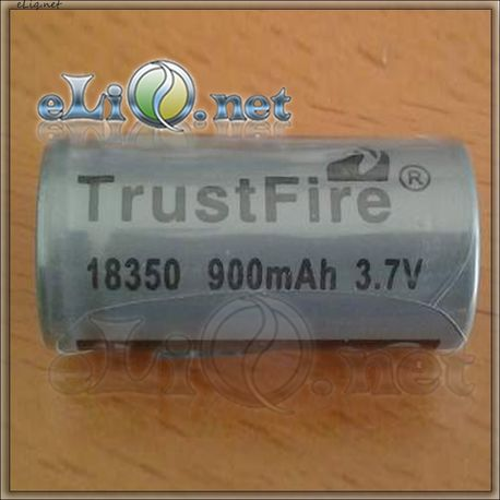 Trustfire 900mAh 3.7V 18350 rechargeable Li-Ion Аккумулятор