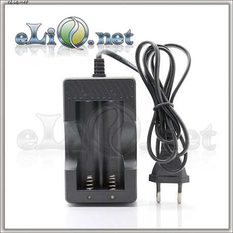 Двуслотовое зарядное устройство для 18650 / 16650 аккумуляторов.