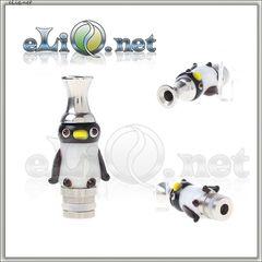 [510] Пингвин. Дрип-тип из нержавеющей стали и пластика. Penguin