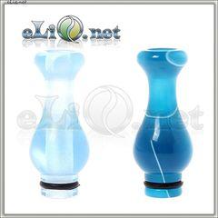 [510] Красивый акриловый дрип-тип / мундштук в форме вазы.
