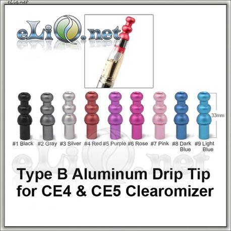 [2] Алюминиевый фигурный дрип-тип для СE4, СЕ5 и тп.