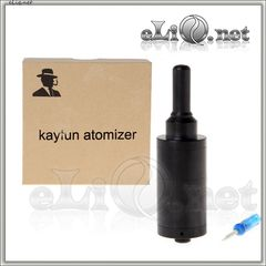 Черный Kayfun Lite Rebuildable Atomizer (4.5mL) (Обслуживаемый атомайзер, клон кайфуна)