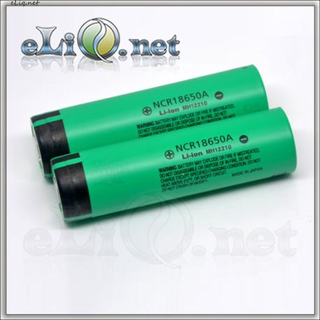 [18650] Panasonic NCR18650A 3100mAh rechargeable Li-Ion Battery