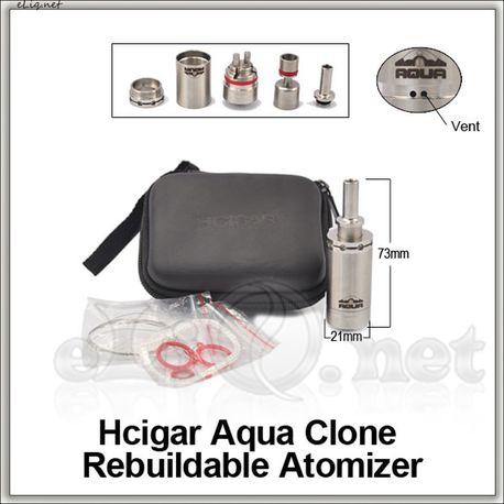 Hcigar Aqua Style (Обслуживаемый атомайзер, Аква, клон)