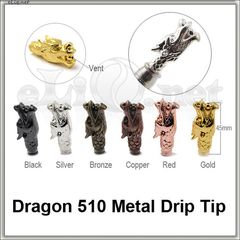 [510] Dragon. Дракон. Металлический дрип-тип.